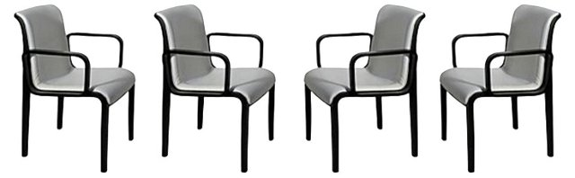 Chairs by Bill Stephens for Knoll, S/4