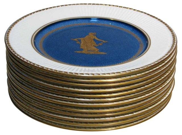 Wedgwood     Plates, S/12