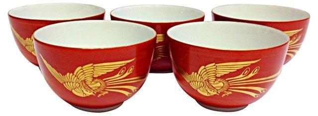 Janpanese Tea Cups, S/5