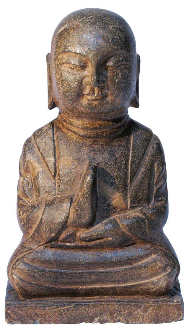 Buddhist Jizo Stone Carving
