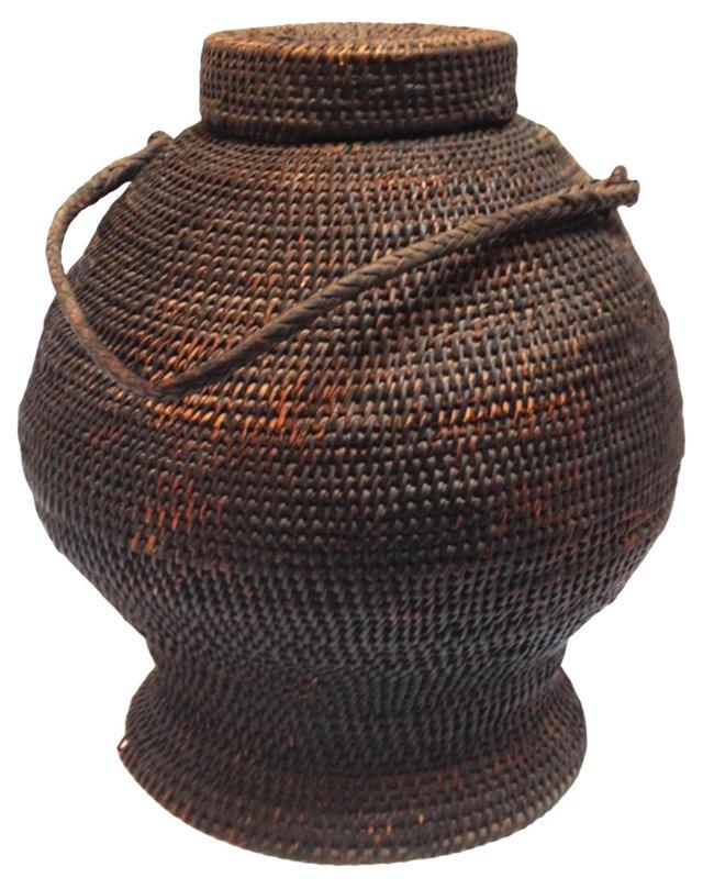 Antique Ifugao Ulbong Basket