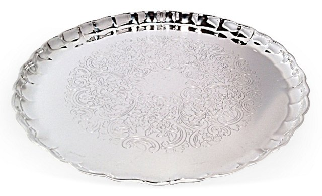Gute Art & Design Silverplate Tray