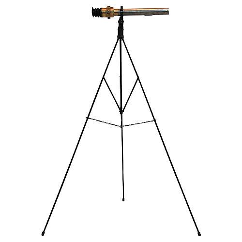 British Military Telescope on Tripod