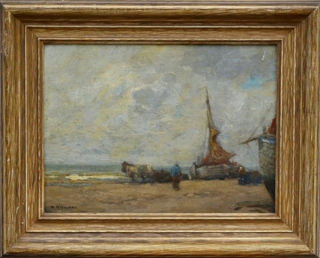 Ebb Tide by William Frederick Ritschel