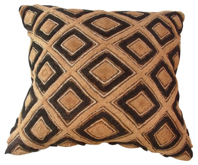 African Tribal Textile        Pillow
