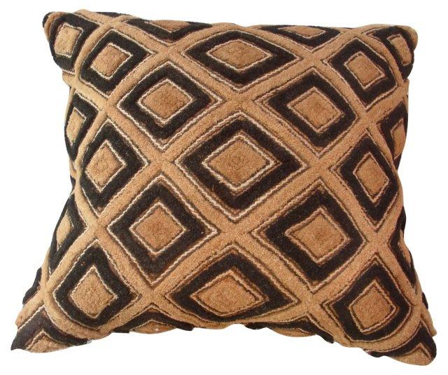 African Tribal Textile        Pillow