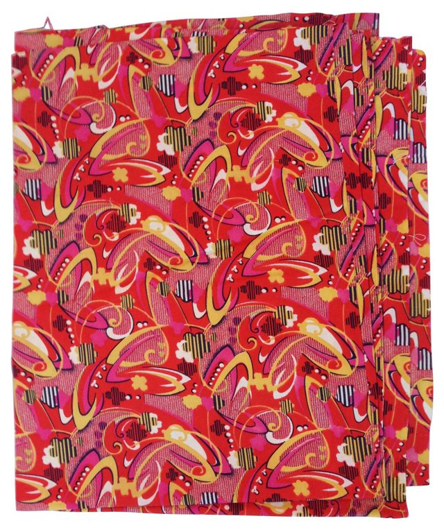 Midcentury Abstract Textile