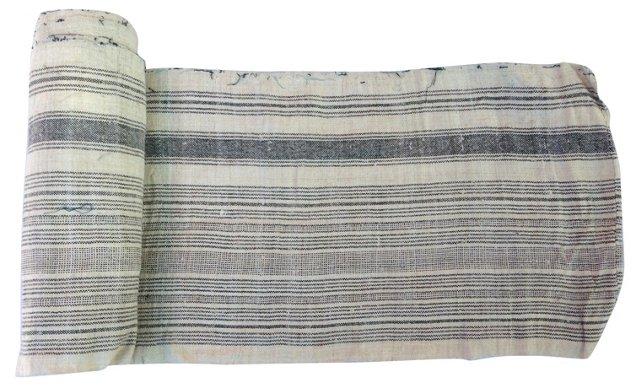 Striped Linen, 8.25 Yds