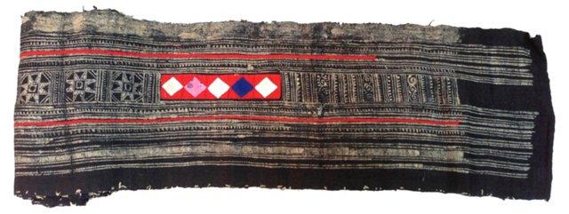 Yao Batik Linen, 5.75 Yds