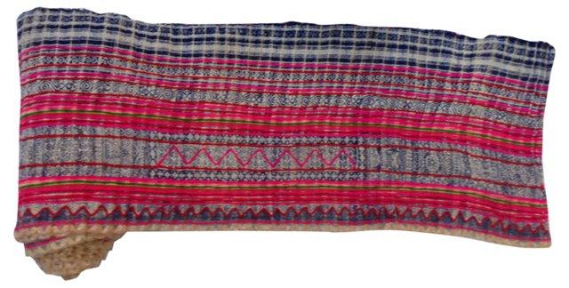 Indigo Batik  Textile, 10 Yds