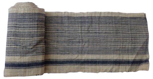 Striped Natural Linen, 12.2 Yds