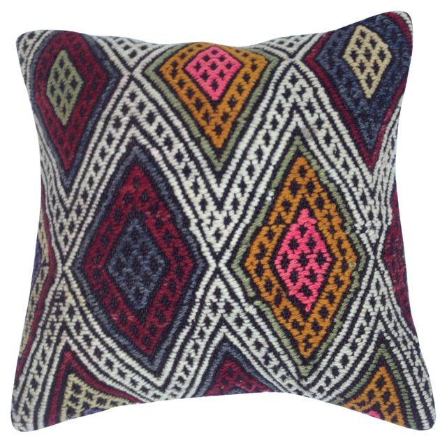 Handloomed       Kilim Pillow
