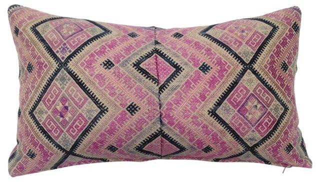 Pink Silk Wedding Quilt    Pillow