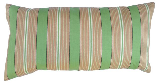 French Awning Striped Pillow