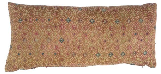 Hmong  Silk Quilt Pillow