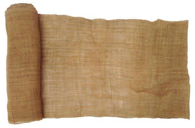 Natural Homespun Linen, 7.4 Yds