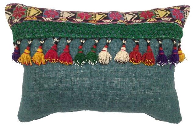 Pillow   w/ Saye Gosha Tassels