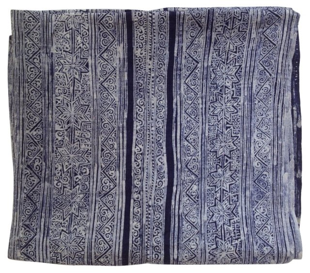 Indigo  Batik  Panel