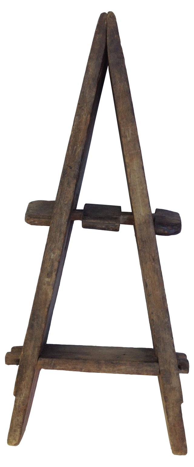 Antique Tribal Wooden Loom