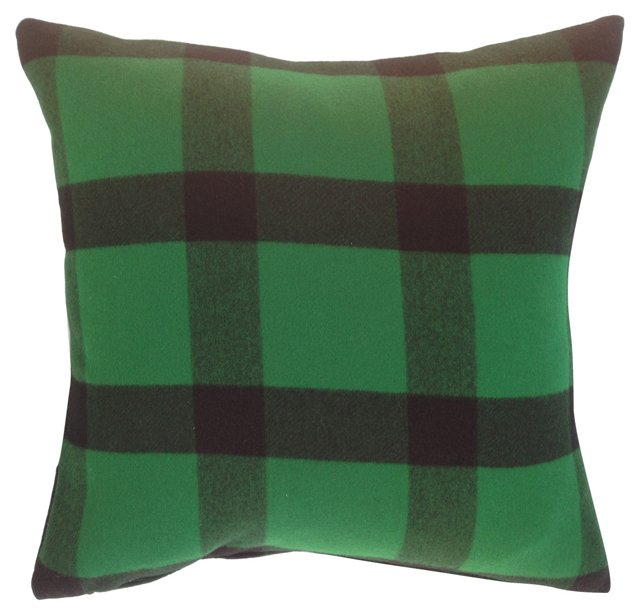 Cashmere Ralph  Lauren  Plaid Pillow