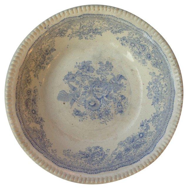 Antique   Pheasant Bowl