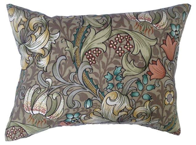 William Morris Golden Lily Pillow