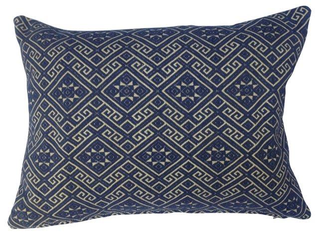 Hmong Antique Wedding Quilt Pillow