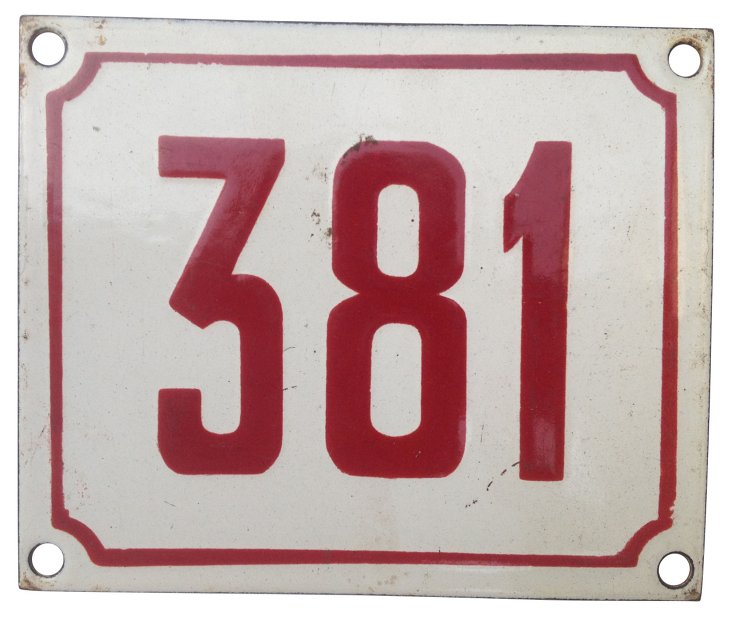 French Street Number, 381