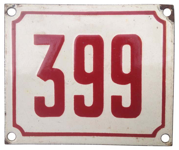 French Street Number, 399