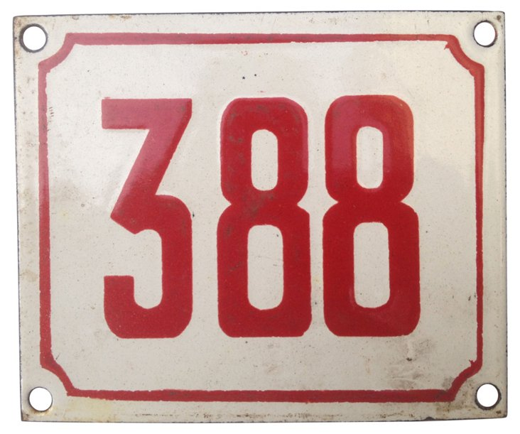 French Street Number, 388