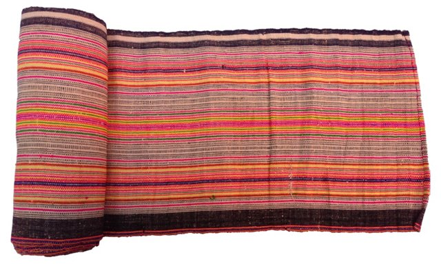 Tribal Striped Linen, 9.6 Yds