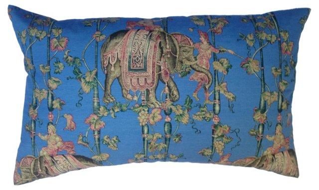 Brunschwig & Fils  Elefantes Pillow