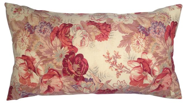 French  Country   Roses   Pillow