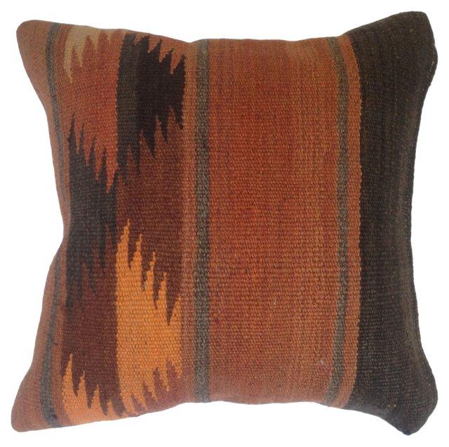 Kilim  Rug  Fragment  Pillow