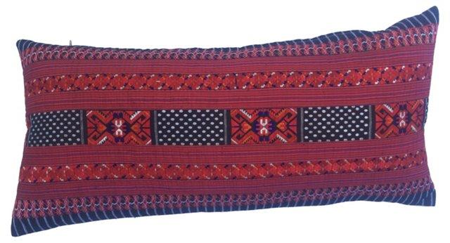 Silk Hill Tribe Panel Pillow