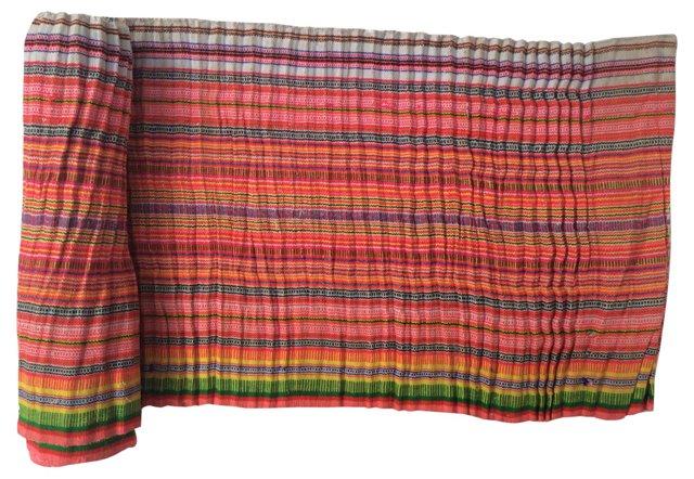 Striped Homespun Linen, 2.8 Yds