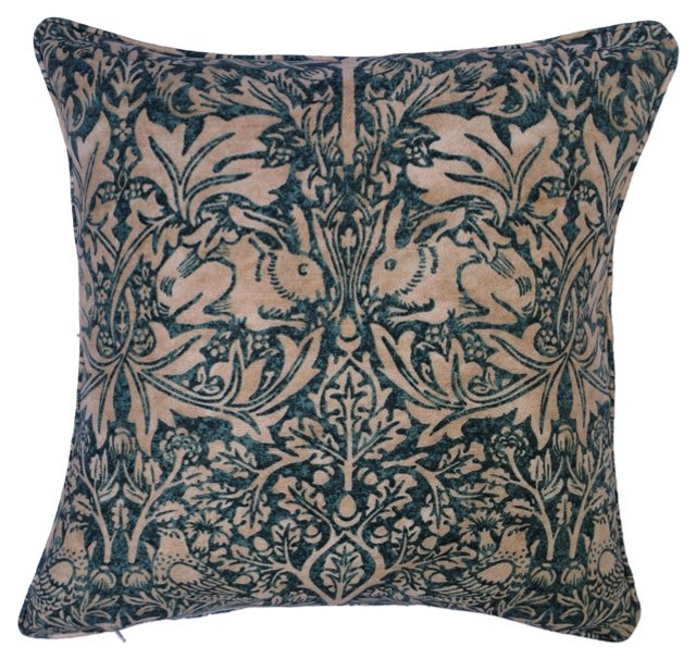 William Morris Brer Rabbit Pillow