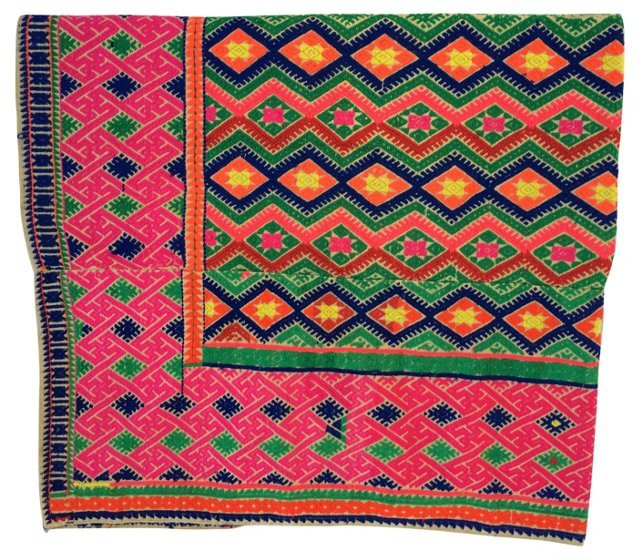 Hmong Tribal   Wedding   Quilt