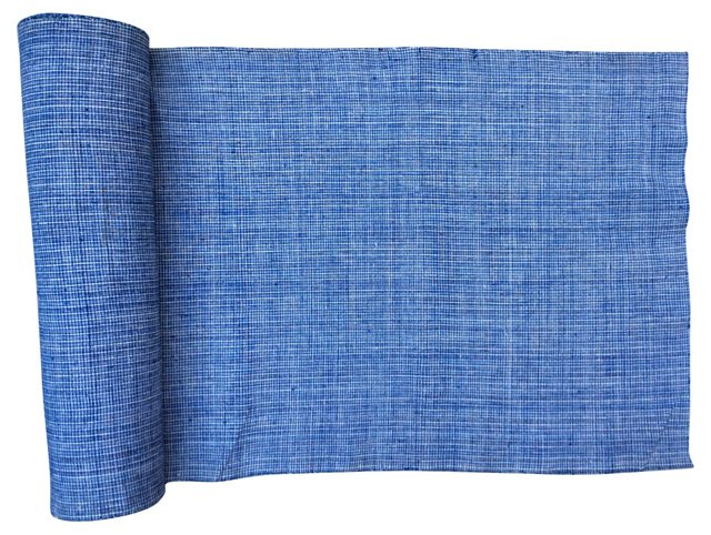 Handspun Kimono Fabric, 13.9 Yds