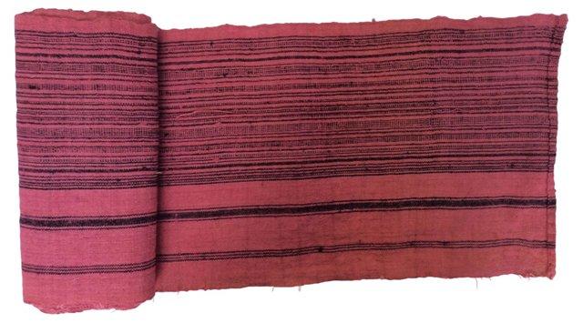 Striped Raspberry   Textile, 6.7 Yds
