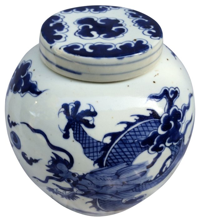 Chinese   Dragon   Ginger   Jar