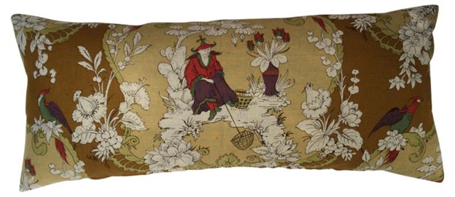 Chinoiserie Body Pillow