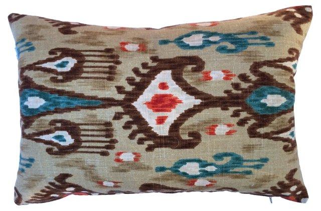 Bohemian   Ikat   Pillow
