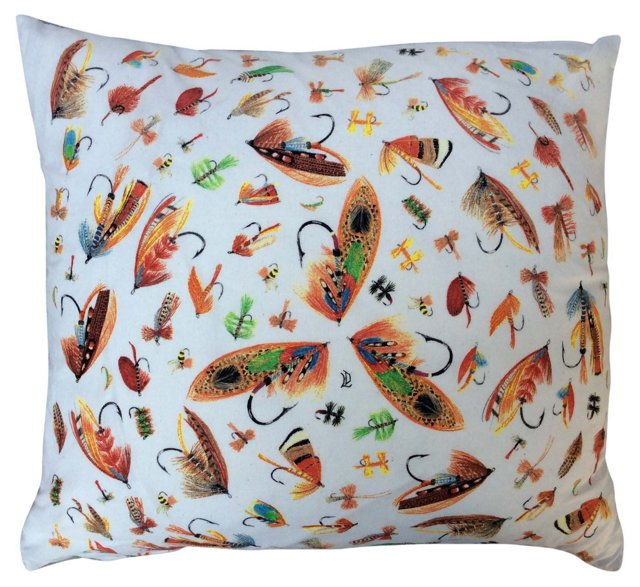 Fly-Fishing Lure Pillow