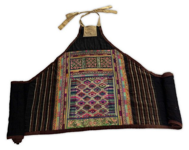 Hill Tribe Intricate Costume Textile