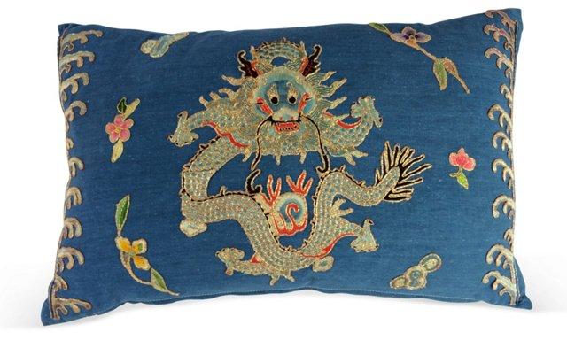 Emperor's Opera Dragon   Pillow
