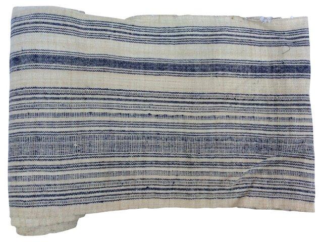 Striped Linen, 5 Yds