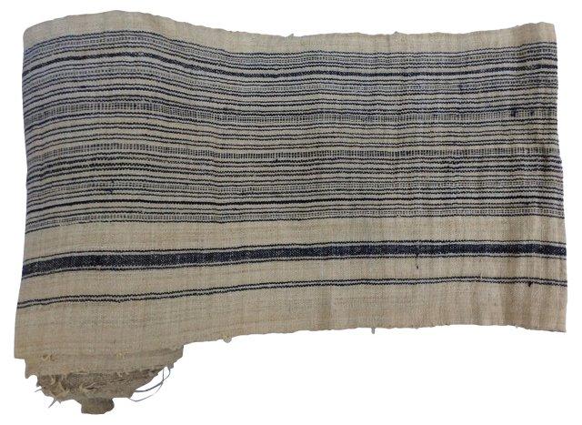 Striped Linen, 10.8 Yds