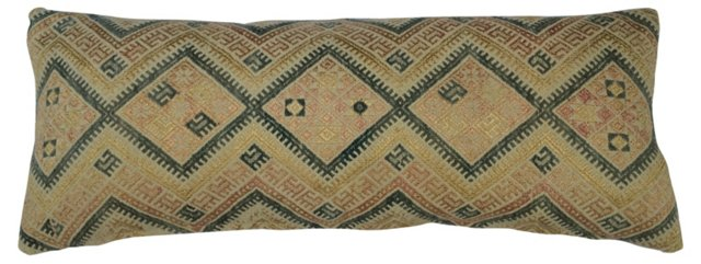 Tribal  Marriage Quilt Pillow