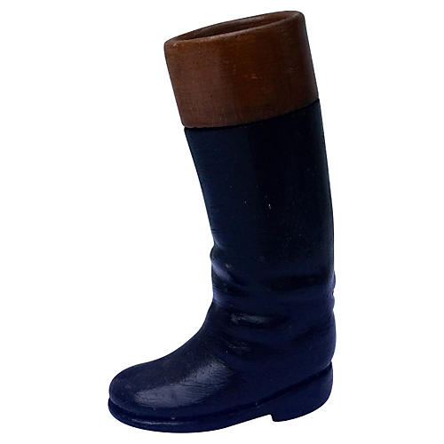 English Miniature Equestrian Riding Boot